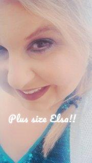 Plus size Elsa!!